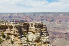 Grand Canyon Viewpoint Stock Image