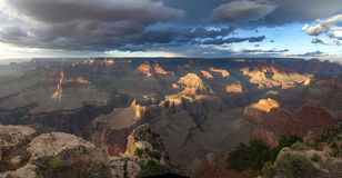 The Grand Canyon. Views of the canyon, the landscape and nature Stock Images