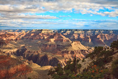 Grand Canyon Vista Stockfotos