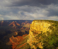 Grand Canyon Vista Stock Images