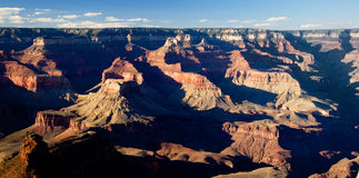 Grand Canyon Vista. Overview of Grand Canyon at sunset royalty free stock photography