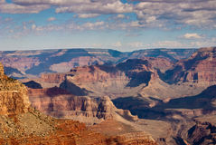 Grand Canyon Vista on a Summers day Stock Photo