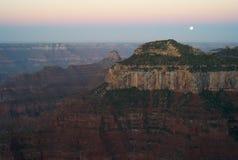 Grand Canyon, vista dall'orlo del nord fotografia stock libera da diritti