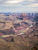 Grand Canyon Vista Stock Image