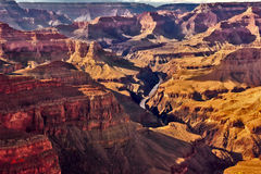 Grand Canyon viu do ponto de Pima Foto de Stock Royalty Free