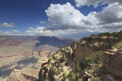 Grand Canyon von der Südfelge Lizenzfreies Stockfoto