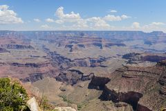 Grand Canyon von Hopi Point stockbilder
