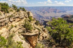 Grand Canyon von Hopi Point lizenzfreie stockfotografie