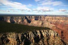 grand canyon w powietrzu Zdjęcia Stock