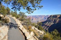 Grand canyon walkway Royalty Free Stock Images