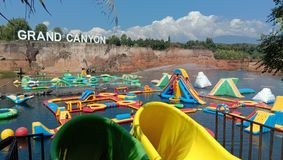 Grand Canyon Water park stock photos