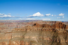 Grand Canyon west. View from the ridge of the west side of the grand canyon stock photos