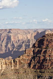 Grand Canyon west. View from the ridge of the west side of the grand canyon royalty free stock photo
