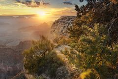 Grand Canyon, west america Stock Images