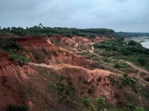 Grand Canyon of West Bengal stock image