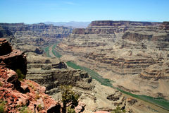 Grand Canyon West Rim Stock Photography