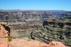 Grand Canyon West Rim Royalty Free Stock Images