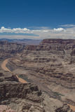 Grand Canyon West Rim and Colorado River Stock Photos