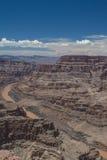 Grand Canyon West Rim and Colorado River Stock Photos
