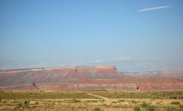 Grand Canyon West Rim in Northwestern Arizona Stock Images