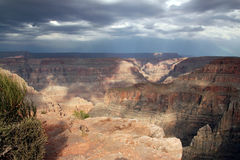 Grand Canyon West View Stock Photography