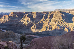 Grand canyon west. View at the guano point, west rim grand canyon Stock Photo