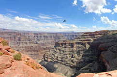 Grand Canyon -Westkante in Arizona, USA Stockfotografie