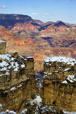 Grand Canyon in winter Stock Photo