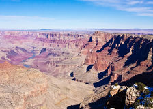 The Grand Canyon in Winter Royalty Free Stock Images