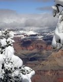 Grand Canyon in Winter 3 Royalty Free Stock Image
