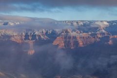 Grand Canyon Winter Beauty Stock Photo