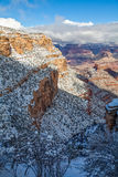 Grand Canyon in Winter Royalty Free Stock Photography