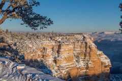 Grand Canyon Winter Landscape Stock Image