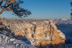 Grand Canyon Winter Landscape Stock Image