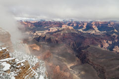 Grand Canyon Winter Stock Photo
