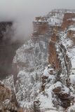 Grand Canyon in Winter Royalty Free Stock Images