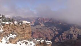 Grand Canyon Winter Scenic stock video