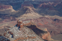 Grand Canyon Winter Scenic Royalty Free Stock Photos