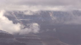 Grand Canyon Winter stock video footage