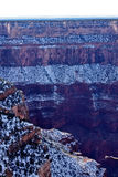 The Grand Canyon in Winter Royalty Free Stock Photography