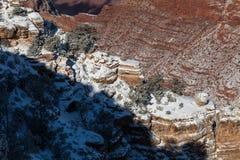 Grand Canyon Winter at South Rim Royalty Free Stock Image