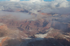Grand Canyon Winter Storm Stock Image