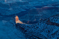 Grand Canyon Winter Sunrise Stock Image