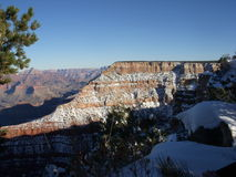 Grand Canyon. In Winter Time Stock Photo