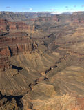 Grand Canyon in winter, USA. Royalty Free Stock Images