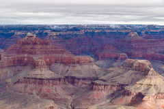 Grand Canyon, Winter View from Mojave Point Stock Photography