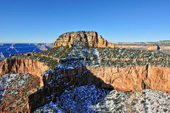 Grand Canyon winters landscape Royalty Free Stock Image