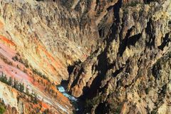 Grand Canyon Of Yellowstone Stock Photography