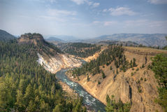 Grand Canyon of Yellowstone Royalty Free Stock Photos