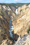 The Grand Canyon of the Yellowstone Stock Photo